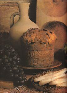 a loaf, a jug