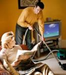 Man doing the housework