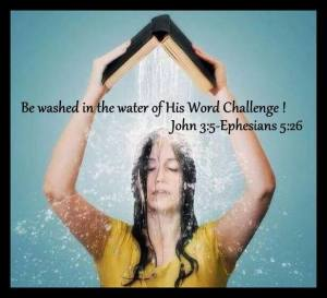 Washed in the Water of the Word