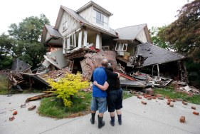 APTOPIX New Zealand Earthquake