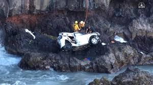 Crash on the Rocks